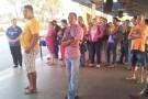 Clientes assistem espetáculo no T. Vera Cruz