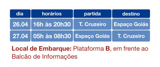 Goiás é Show - Linha especial 106