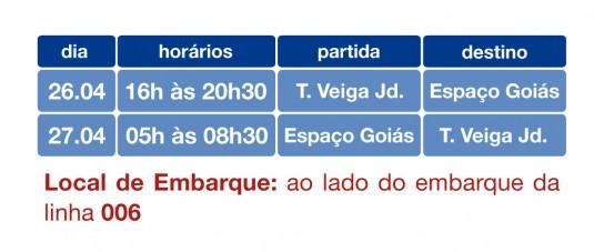 Goiás é Show - Linha especial 108
