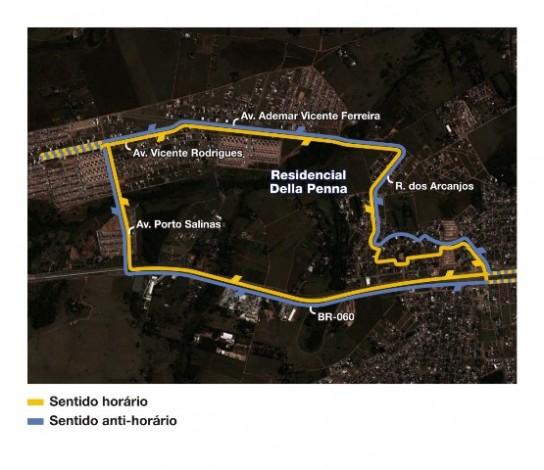 Mapa linha 341