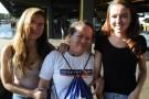 Creusangela e as filhas Mariangela e Ana Gabriela