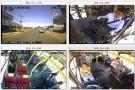 Imagens das câmeras em tempo real