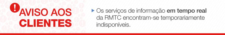 RMTC Goiânia - Instabilidade Serviços